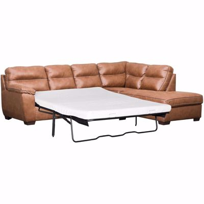 Picture of Wesley 2PC LAF Sofa Sectional with Memory Foam Mat