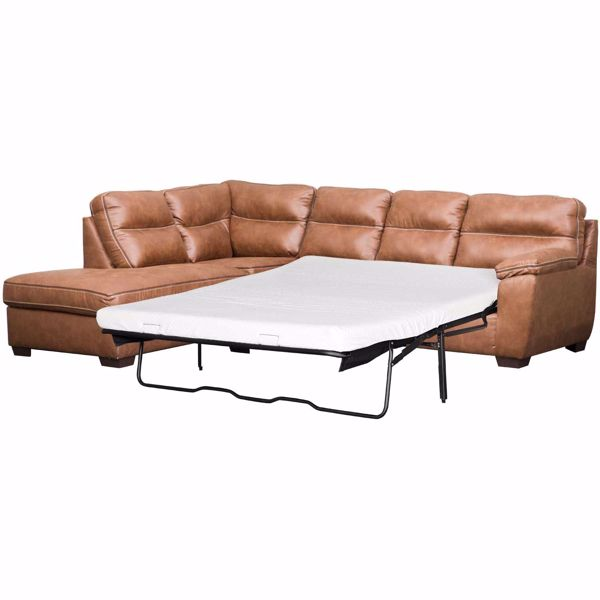 Wesley 2pc Raf Sofa Sectional With