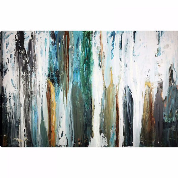 Picture of Color Falls Abstract Wall Decor