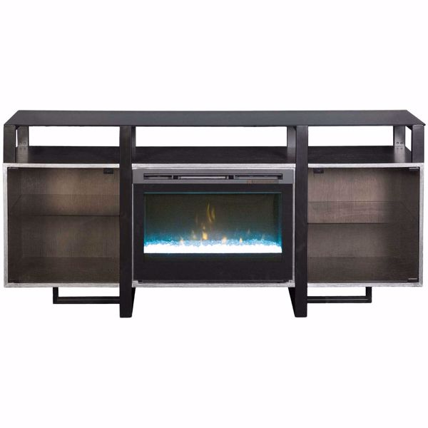 """Picture of Milo 67"""" Fireplace Console Set"""