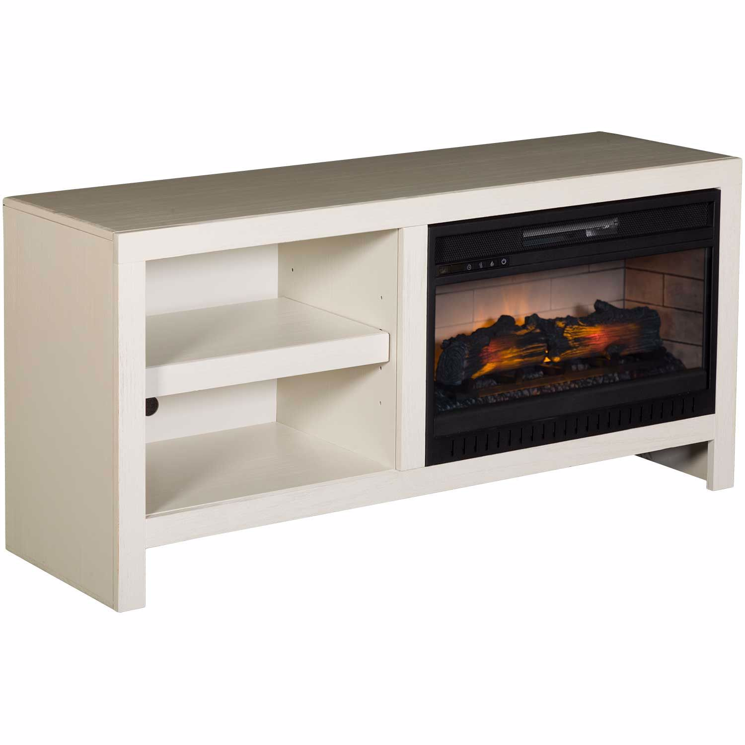 Picture of 52IN DEL MAR FIREPLACE, WHITE