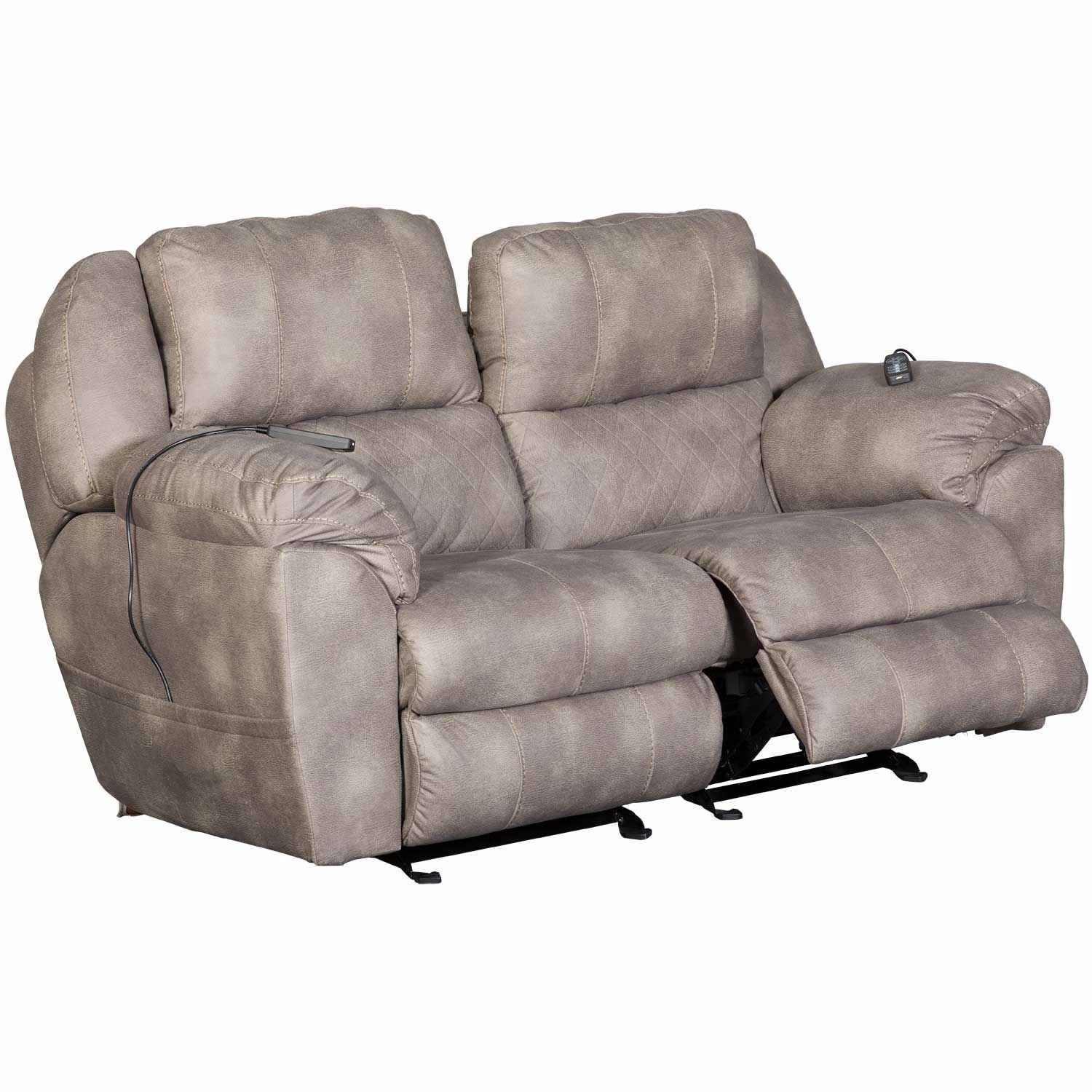 Picture of Power Recline Loveseat with Power Headrest, Lumbar