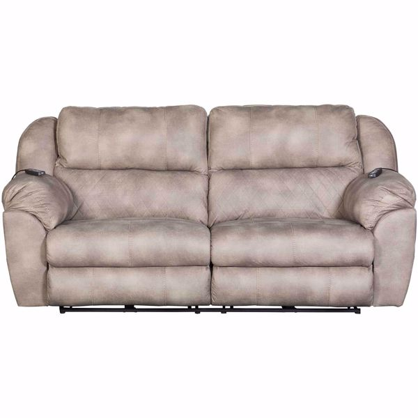 Picture of Power Recline Sofa with Power Headrest, Lumbar sup