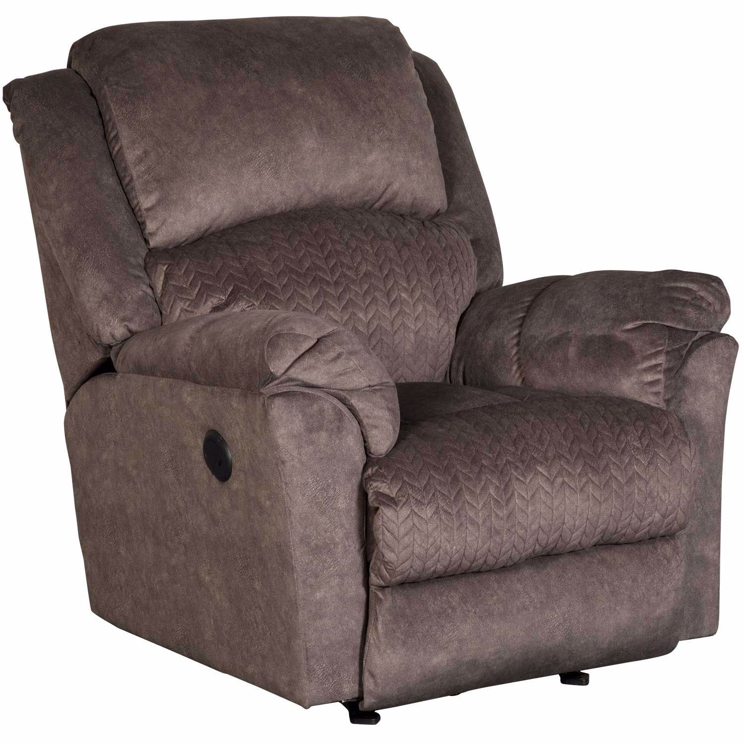 Picture of Chocolate Power Rocker Recliner