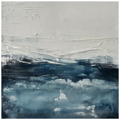 Picture of Blue Grey Abstract 47x47