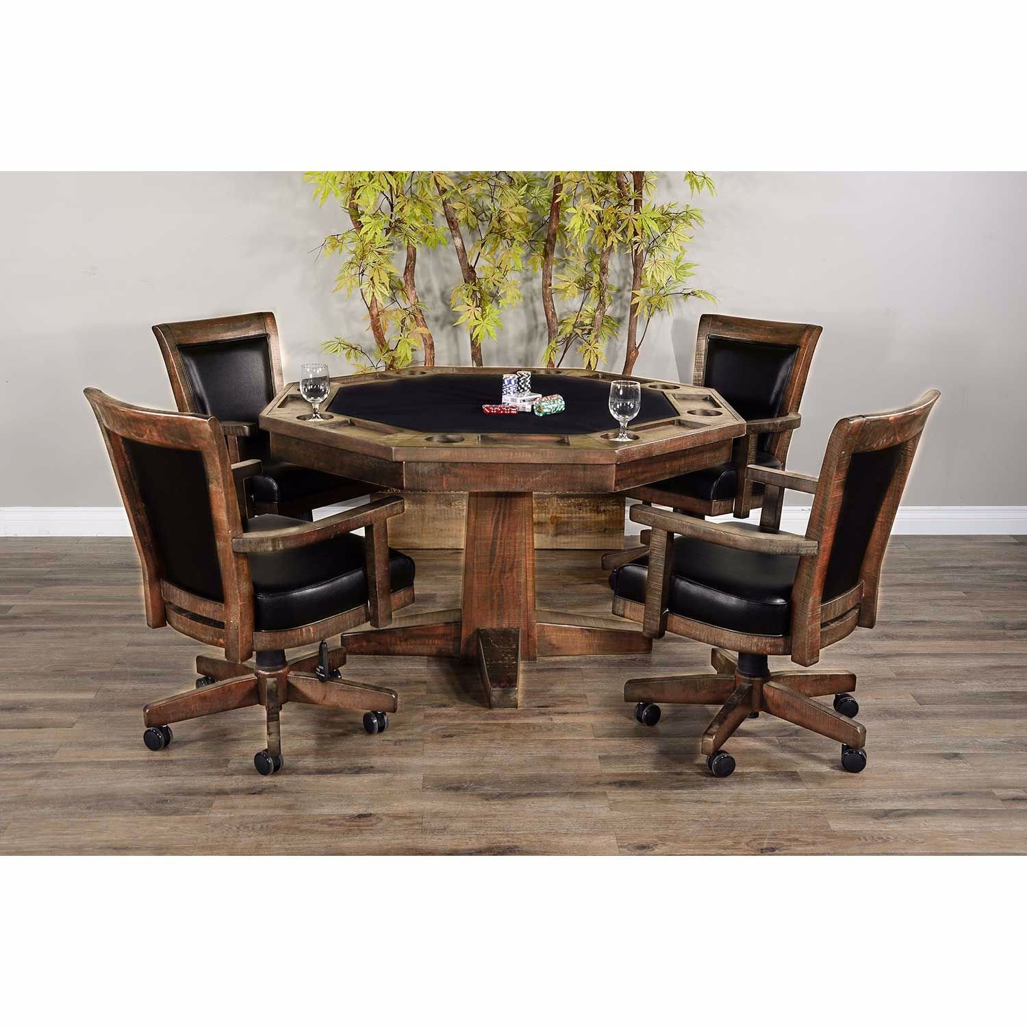 Picture of Tobacco Leaf Game Table