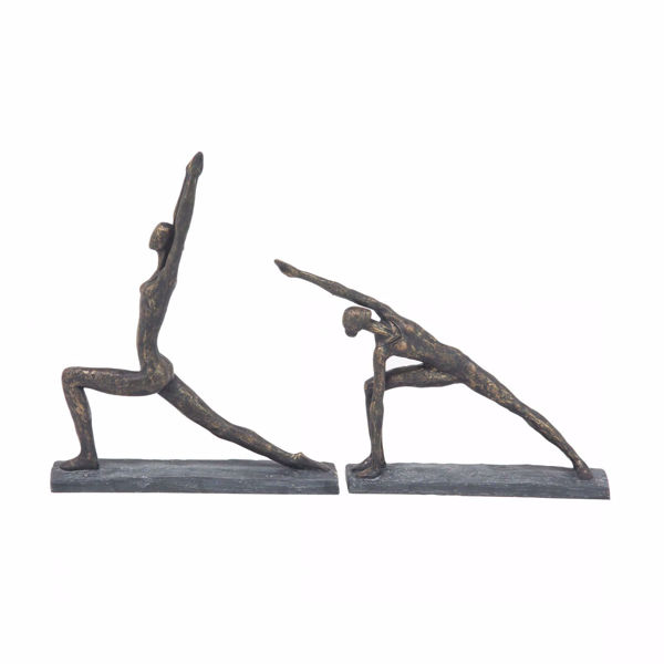 Picture of Set of 2 Yoga Sculptures