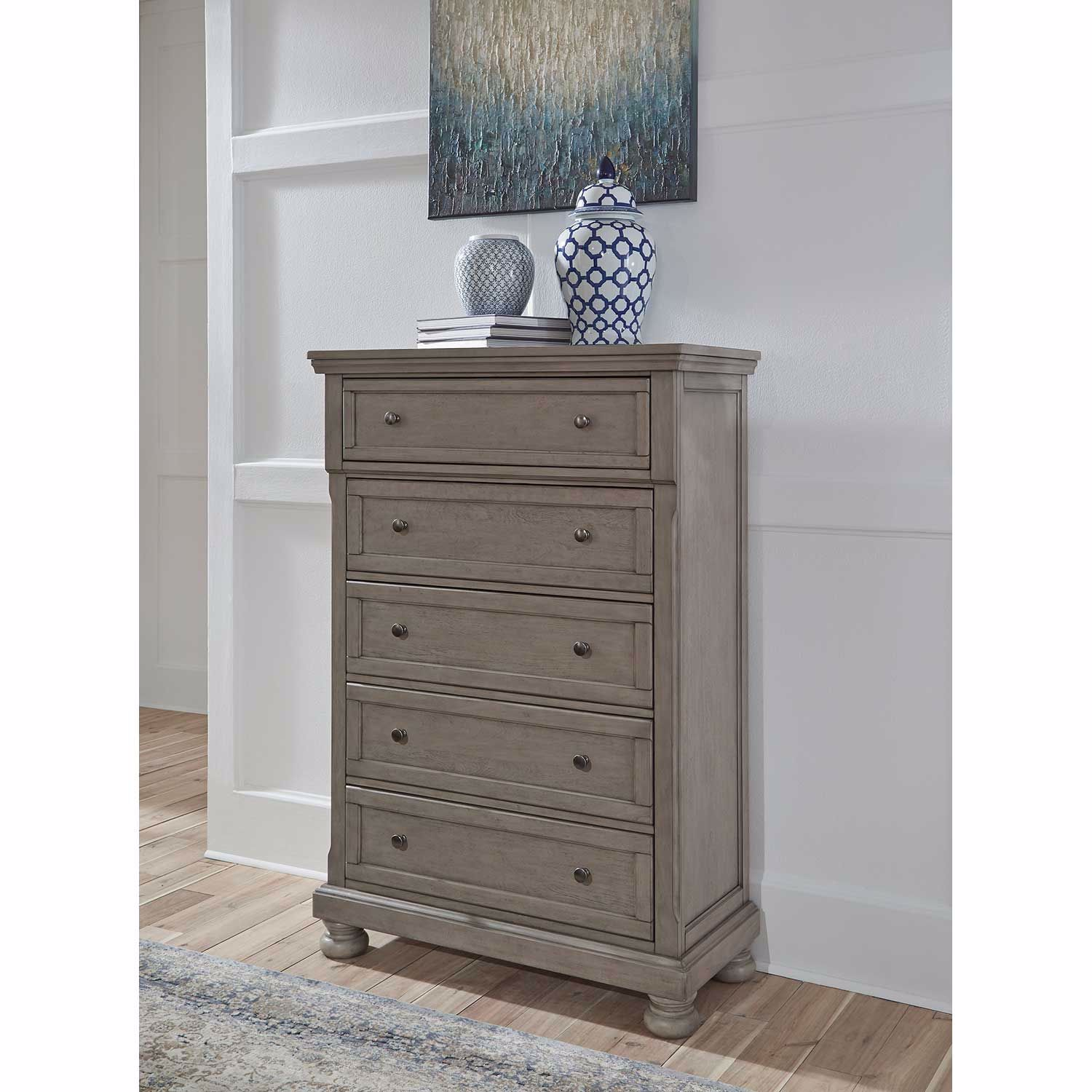 Picture of Lettner 5 Drawer Chest