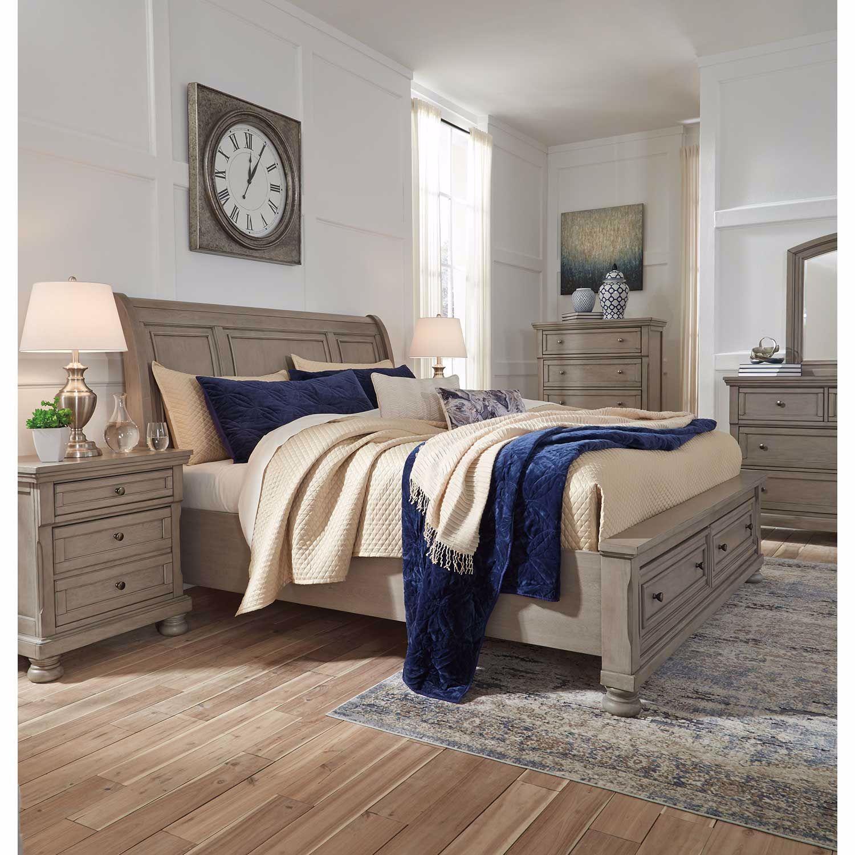 Lettner 5 Piece Bedroom Set B733 Qbed 31 36 46 92 Ashley Furniture Afw Com