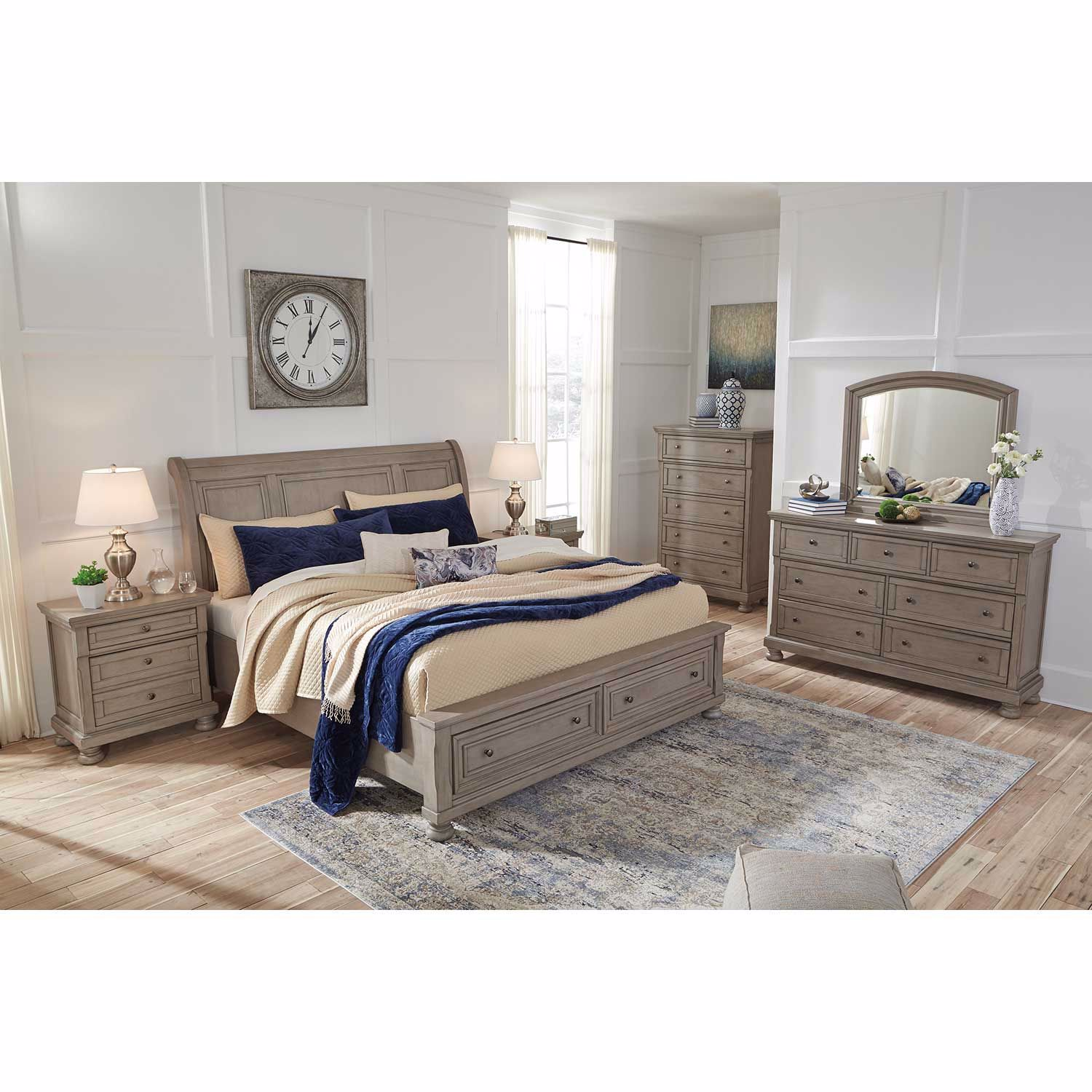 Picture of Lettner queen Storage Bed