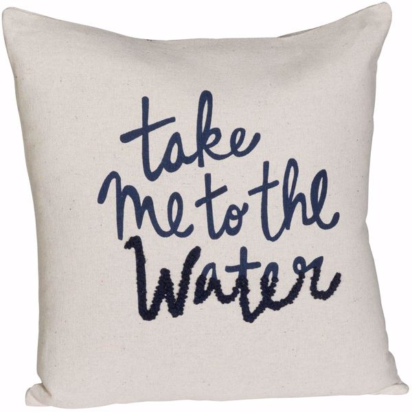 Picture of 20x20 To The Water Pillow