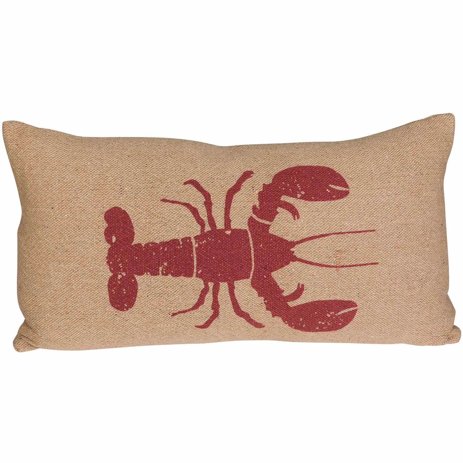 Picture of 14x26 Red Lobster Pillow