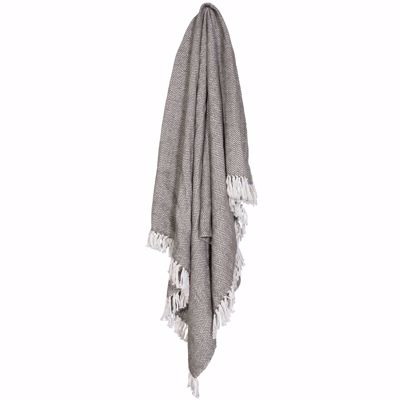 Picture of 50x60 Dark Gray Throw