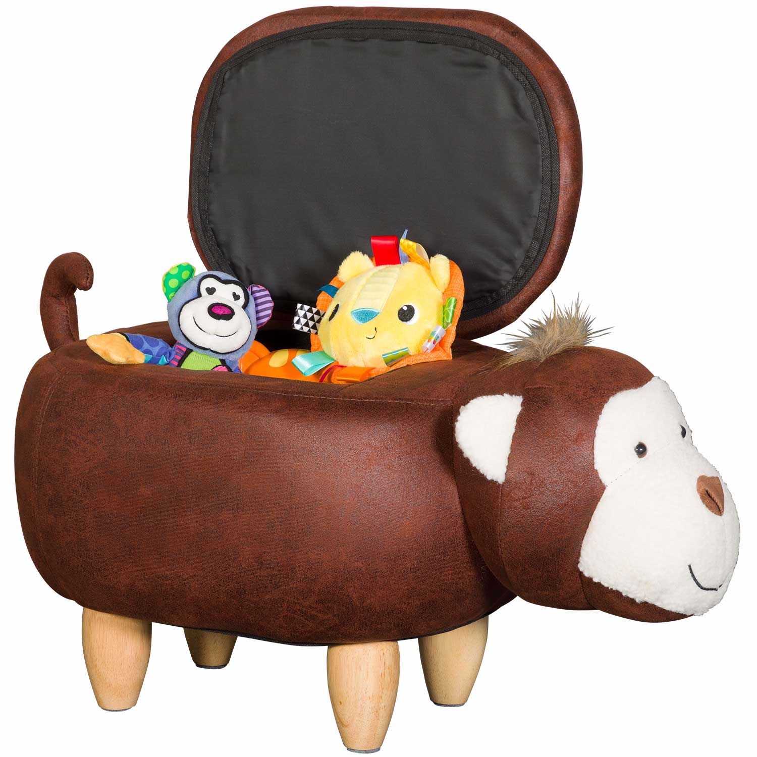 Picture of Monkey Storage Ottoman