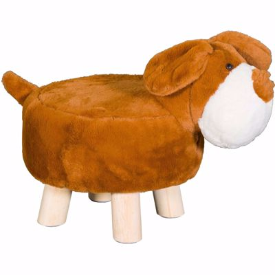 Picture of Brown Dog Ottoman