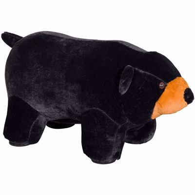 Picture of Black Bear Ottoman