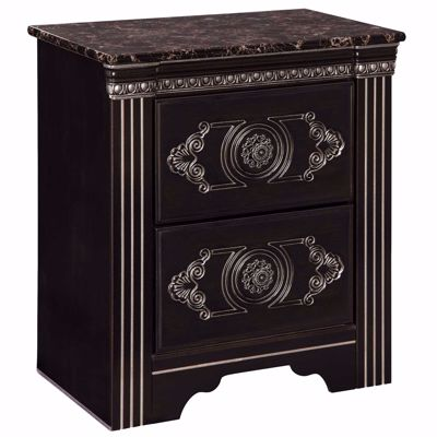 Picture of Banalski 2 Drawer Nightstand