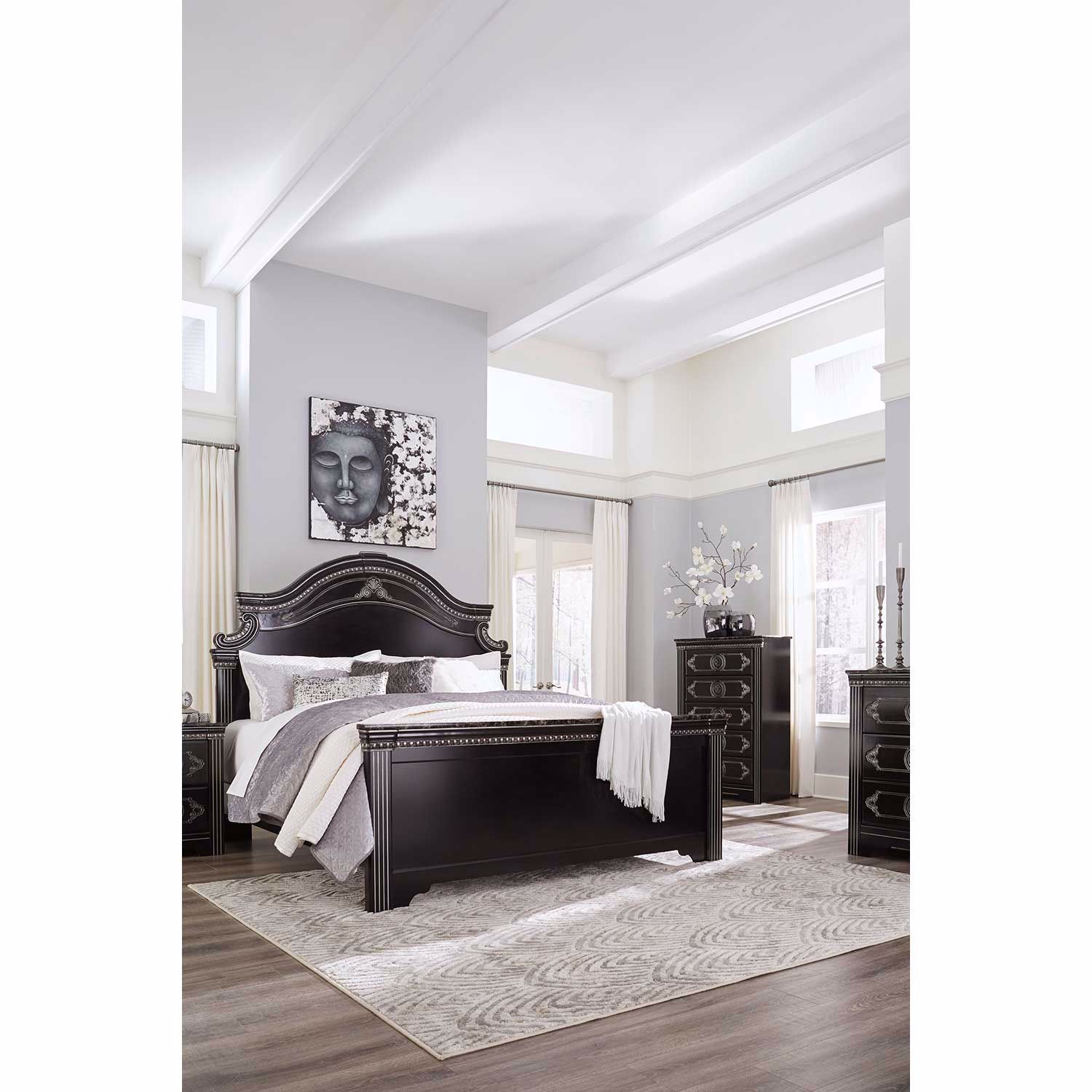 Picture of Banalski Queen Panel Bed