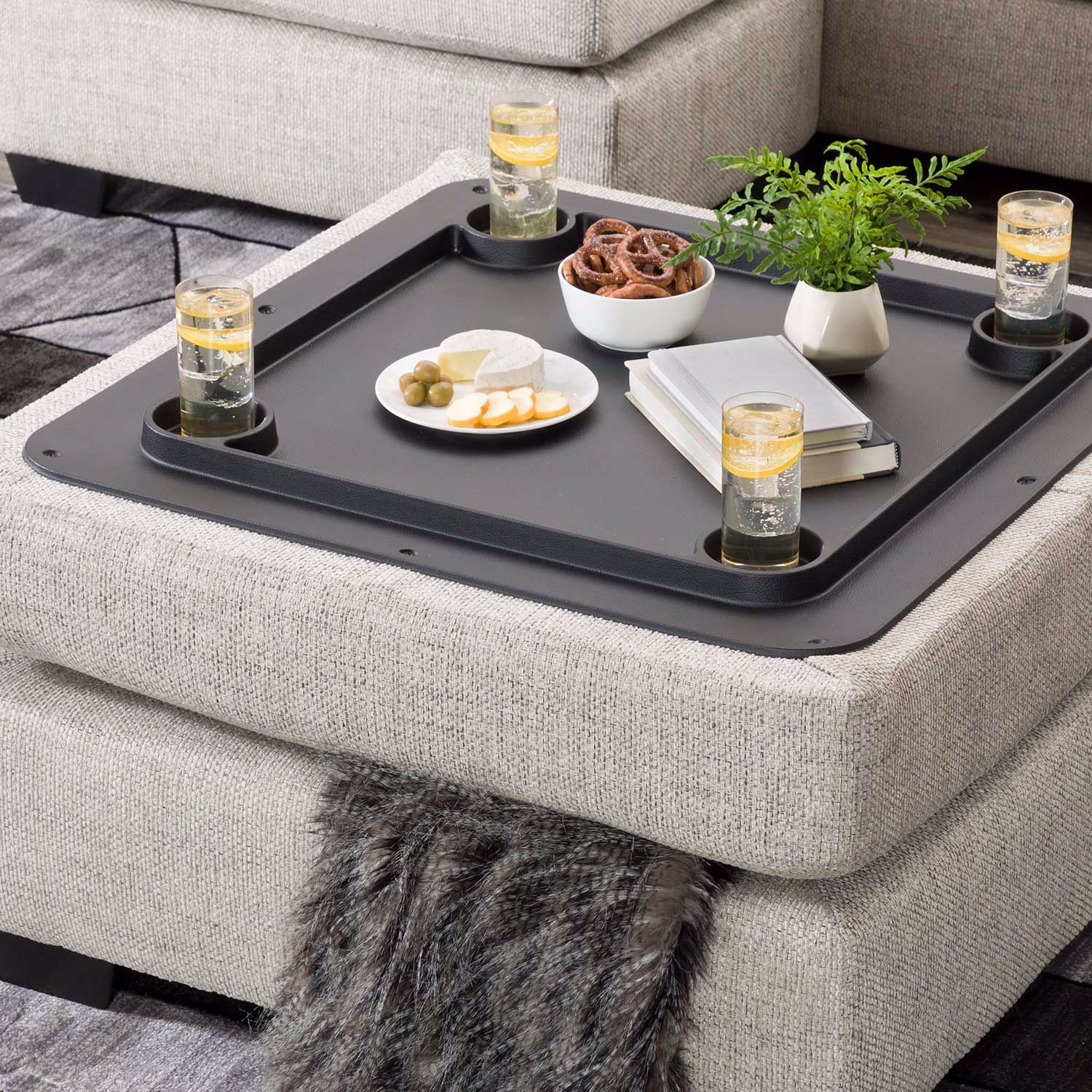Picture of Megginson Storage Cocktail Ottoman