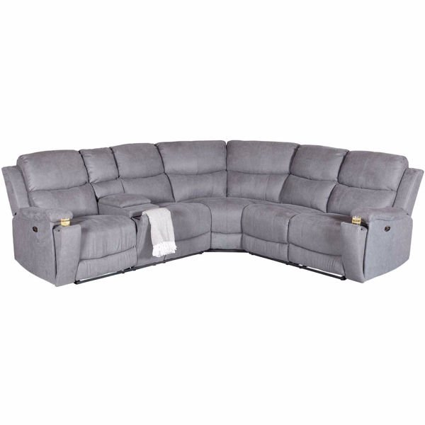 Picture of Daytona 3 Piece Power Reclining Sectional