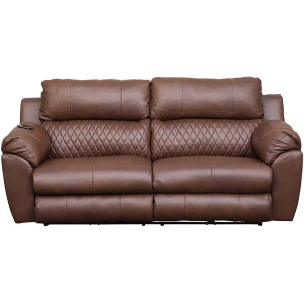 Picture of Sorrento Italian Leather Power Recline Sofa