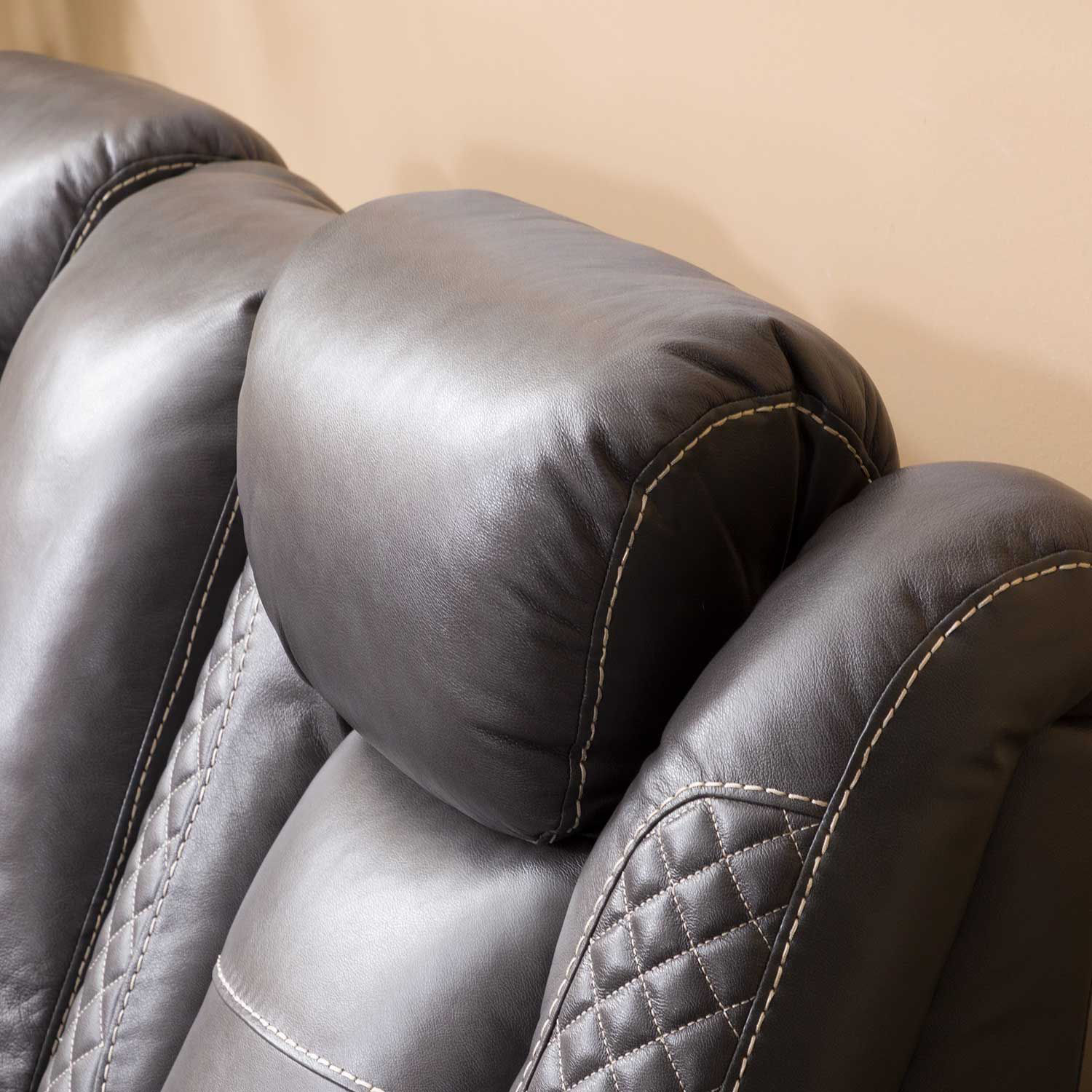 Picture of Orion Power Recliner with Adjustable Headrest and Drop Down Table