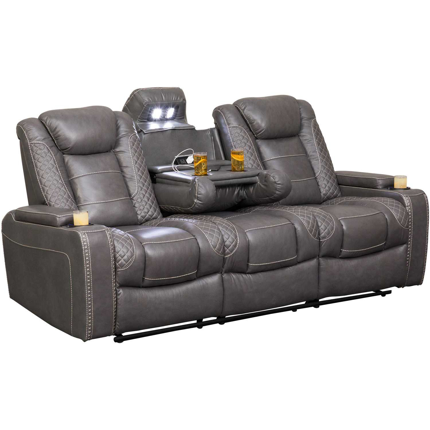 Picture of Orion Power Reclining Sofa with Adjustable Headrest