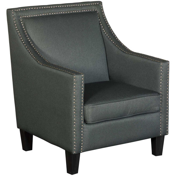 Picture of Malika Gray Accent Chair