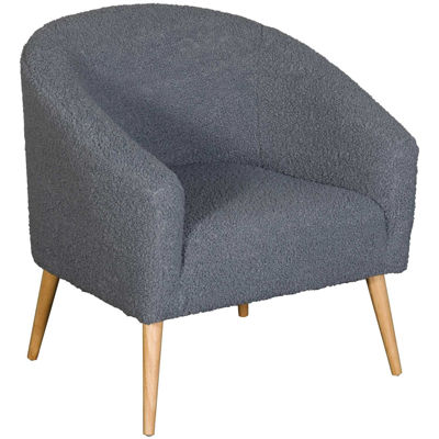 Picture of Sherpa Gray Accent Chair