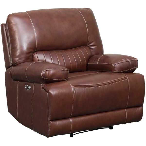 Picture of Rigby Brown Leather Power Recliner