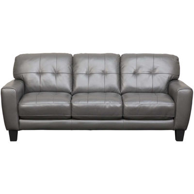 Picture of Aria Gray Leather Sofa