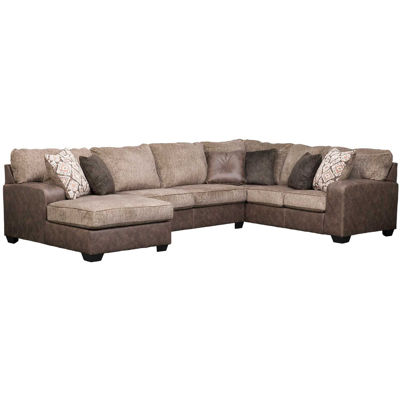 Picture of 3pc 2tone Sectional with LAF Chaise