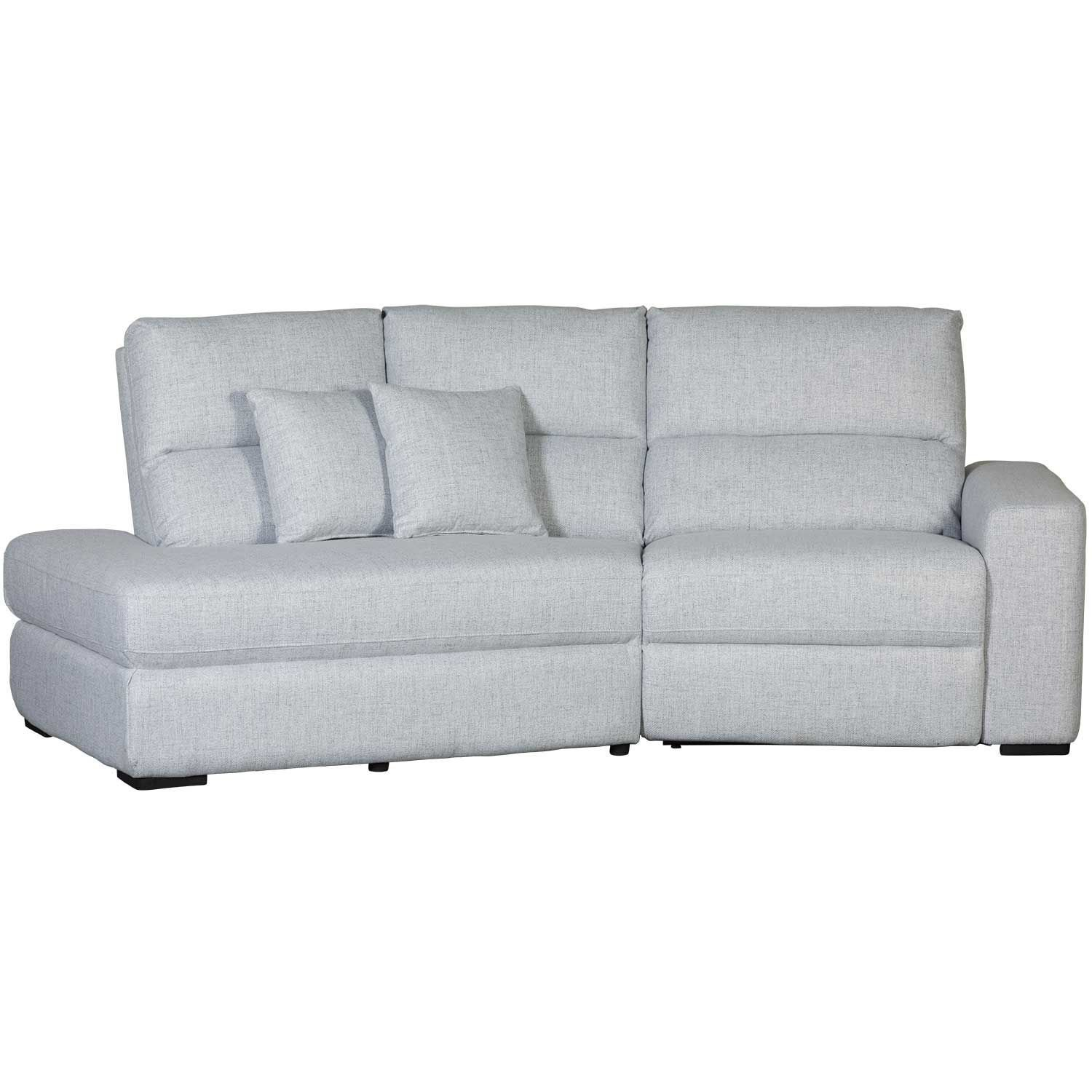 Picture of Luna 2 Piece Power Recline Sectional with LAF Chai