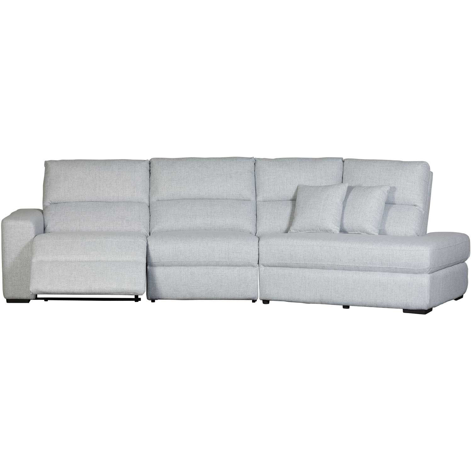 Picture of Luna 3 Piece Power Recline Sectional with RAF Chai