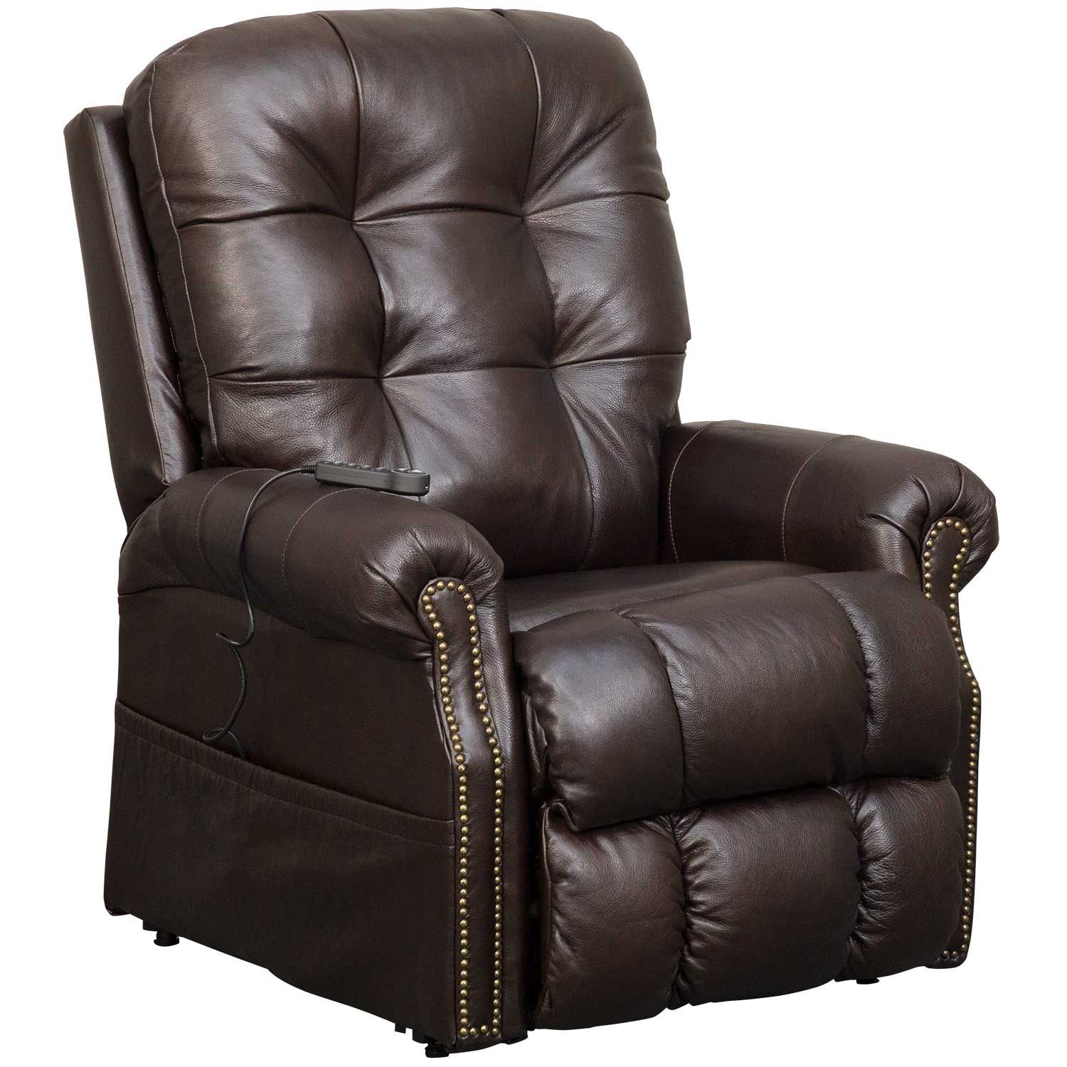 Madison Italian Leather Power Lift Chair 4891 Jackson Furniture Catnapper Afw Com