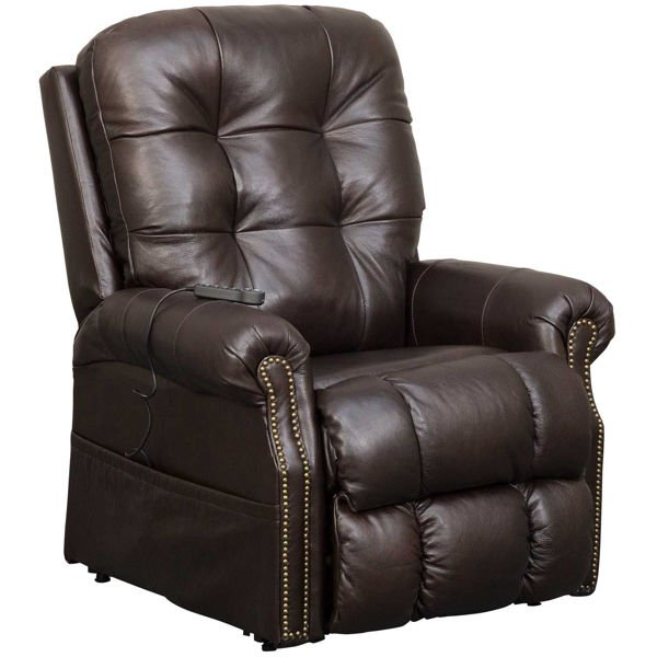 Picture of Madison Italian Leather Power Lift Chair