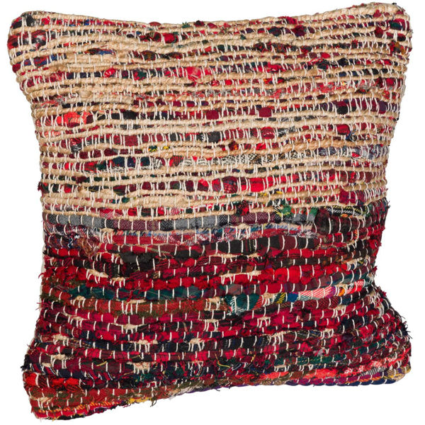 Picture of Ampic Red Woven 18x18 Pillow *P