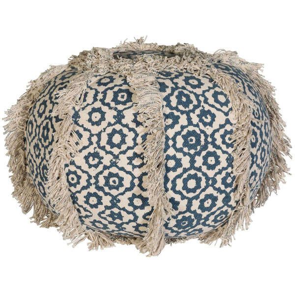 Picture of Bundi Round Pouf *P