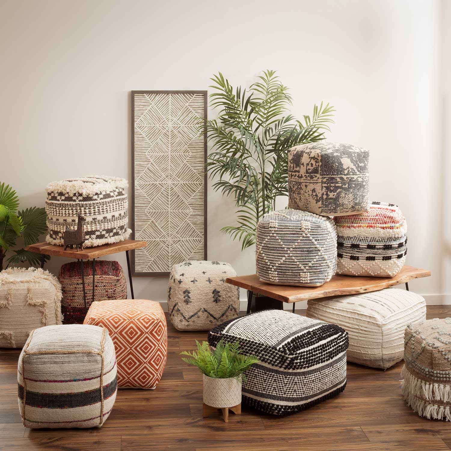 Picture of Redrock Pouf *P