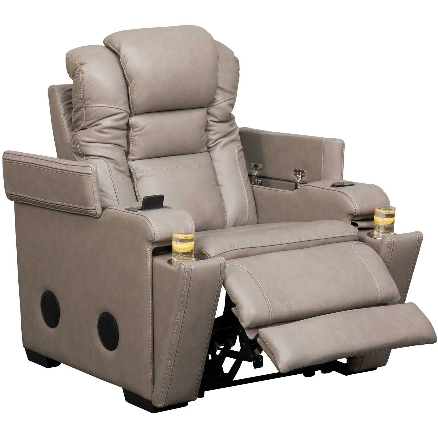 Picture of Boerna Power Recliner with Adjustable Headrest
