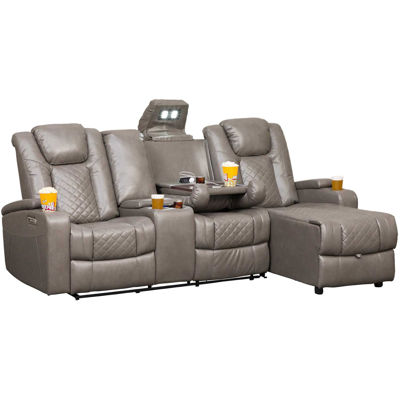 Picture of 2PC Power Recline Sectional (LAF) with Adjustable Headrest