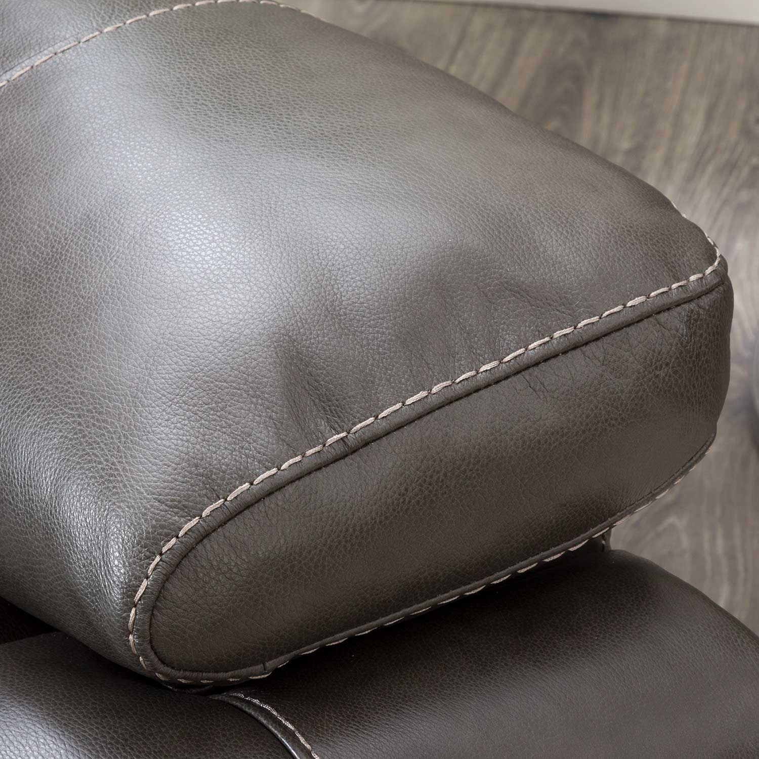 Picture of Rigby Gray Leather Power Recliner