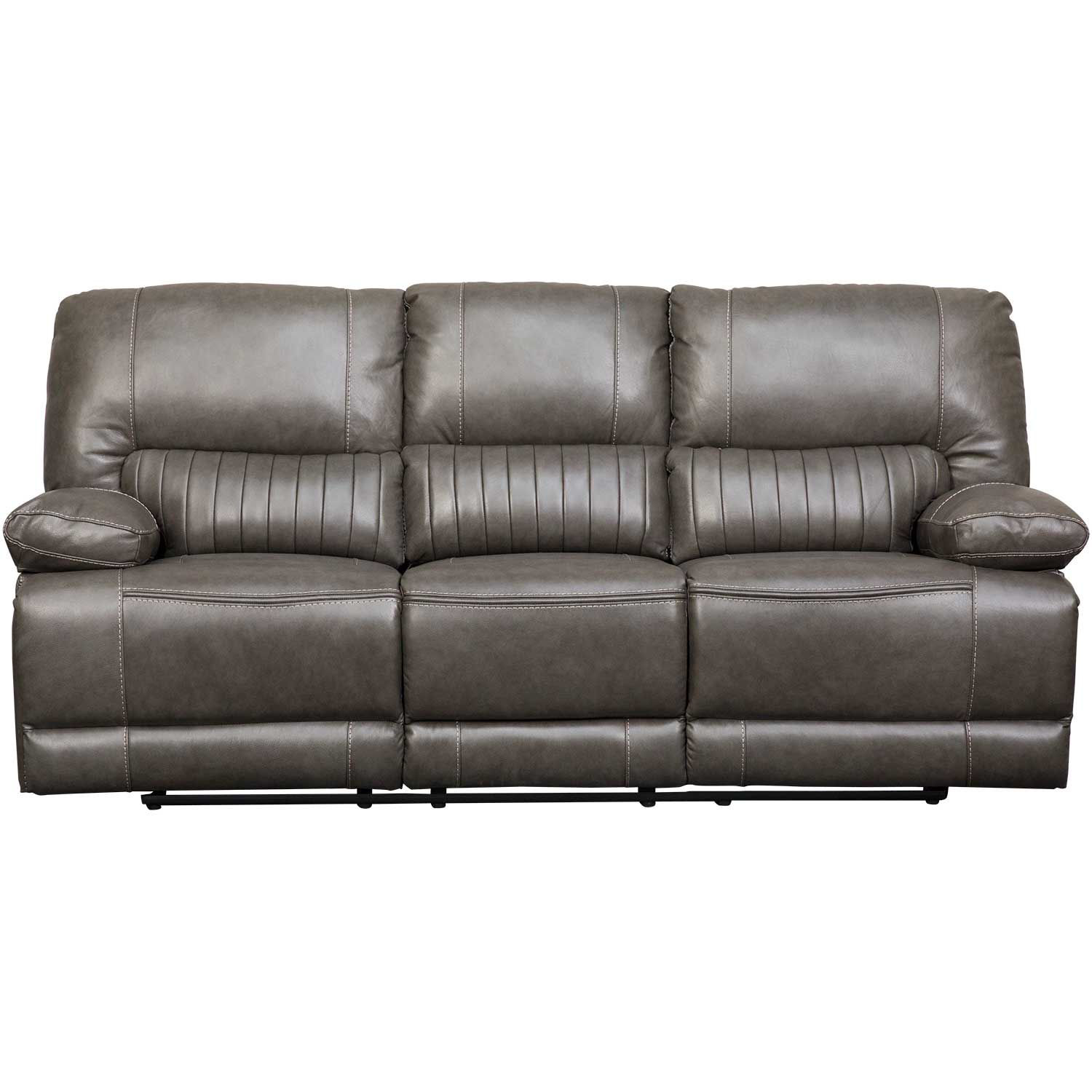 Picture of Rigby Gray Leather Power Recline Sofa