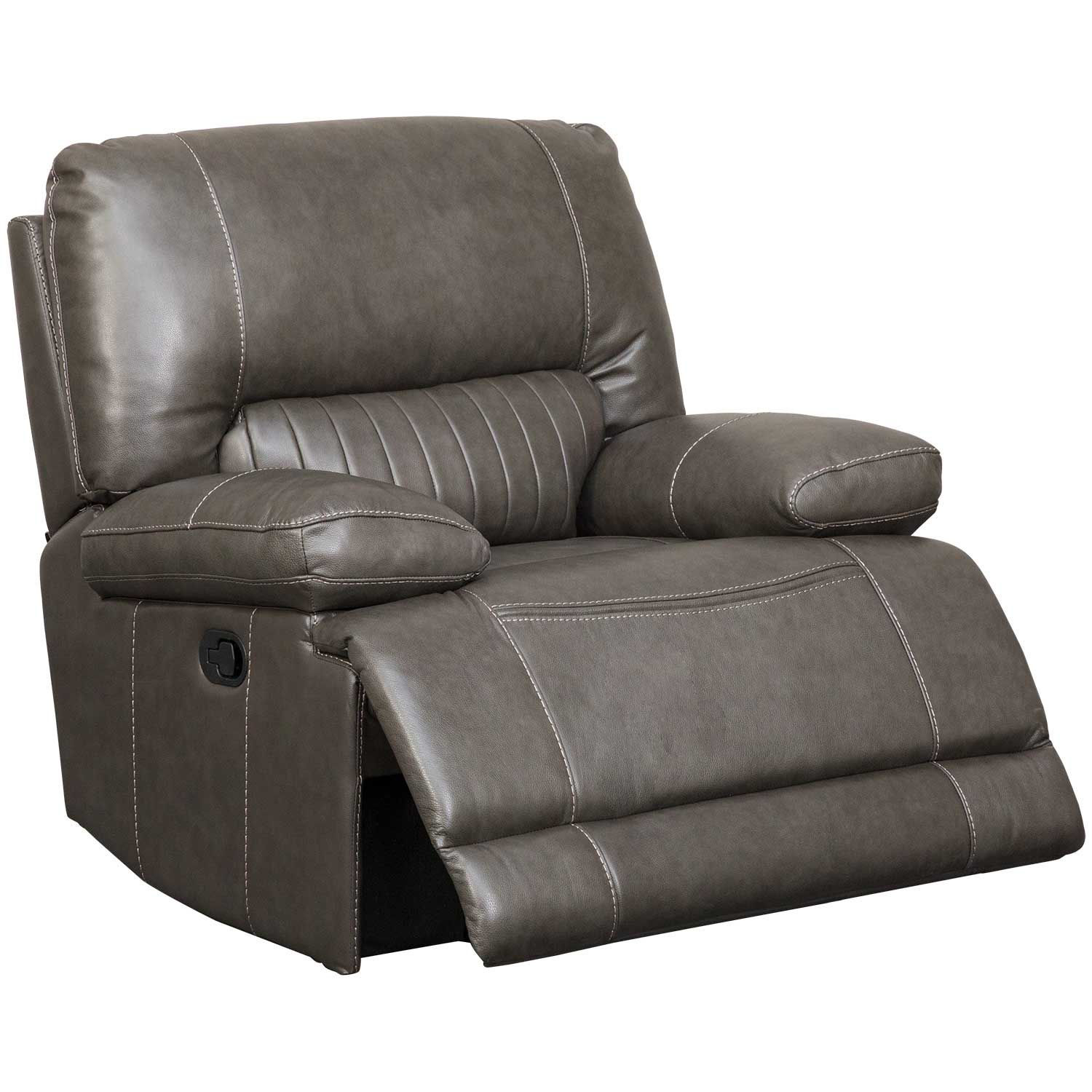 Picture of Rigby Gray Leather Recliner