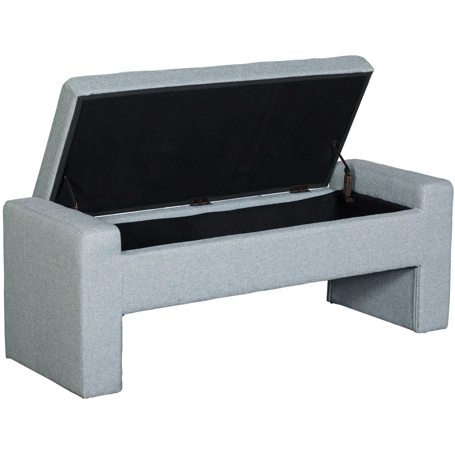 Picture of Lyla Gray Tufted Storage Bench