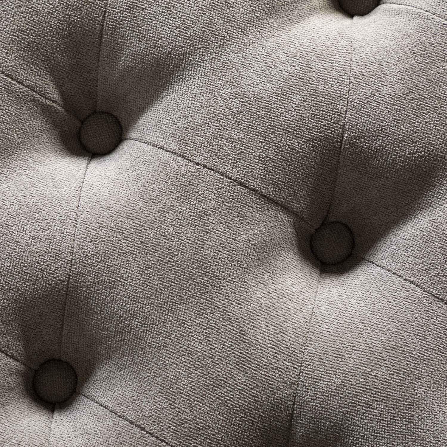 Picture of Aria Oval Gray Cocktail Ottoman