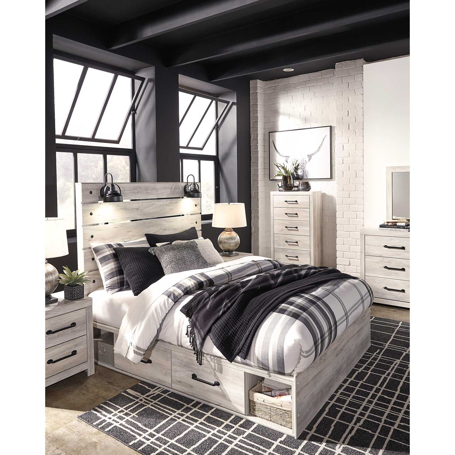 Picture of Cambeck Queen Storage Bed