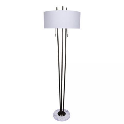 Picture of Metal Floor Lamp Marble Base