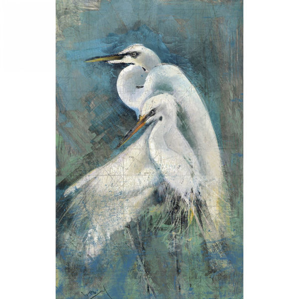Picture of Egrets Wall Decor