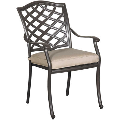 Picture of Halston Patio Arm Chair with Cushion